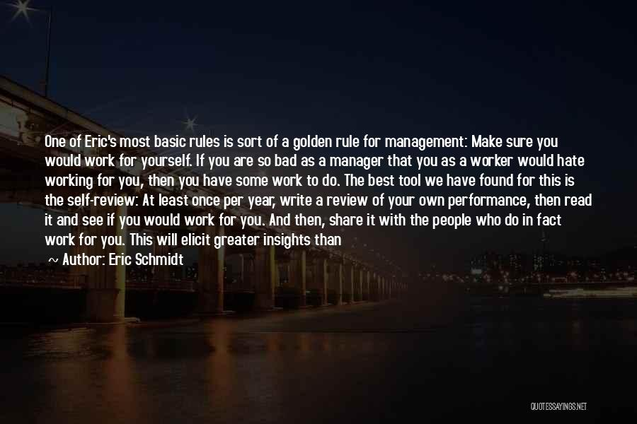 Initiating Things Quotes By Eric Schmidt