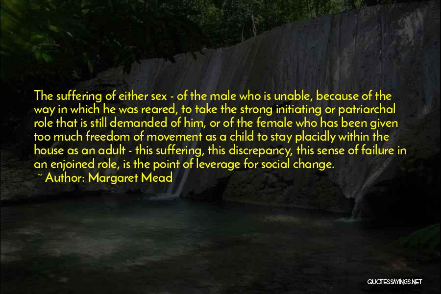 Initiating Things Quotes By Margaret Mead