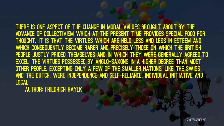 Initiative And Change Quotes By Friedrich Hayek