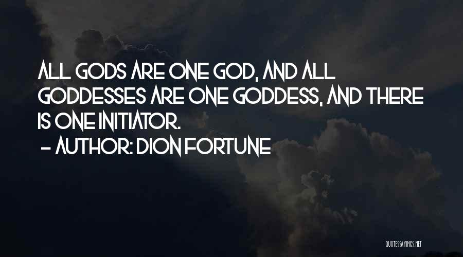 Initiator Quotes By Dion Fortune