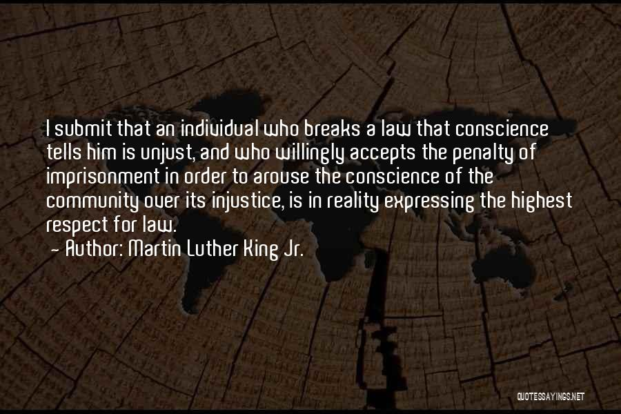 Injustice Martin Luther King Quotes By Martin Luther King Jr.