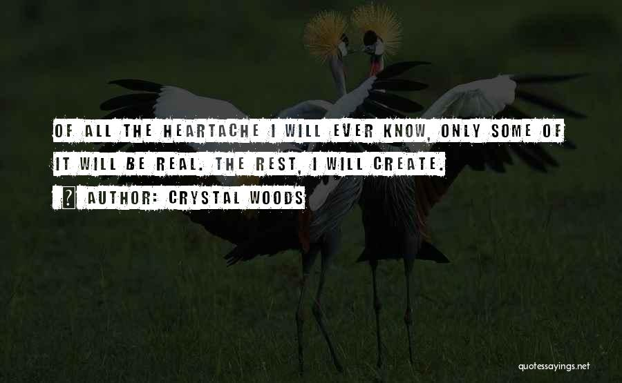 Inner Dialogue Quotes By Crystal Woods
