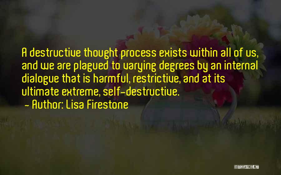 Inner Dialogue Quotes By Lisa Firestone