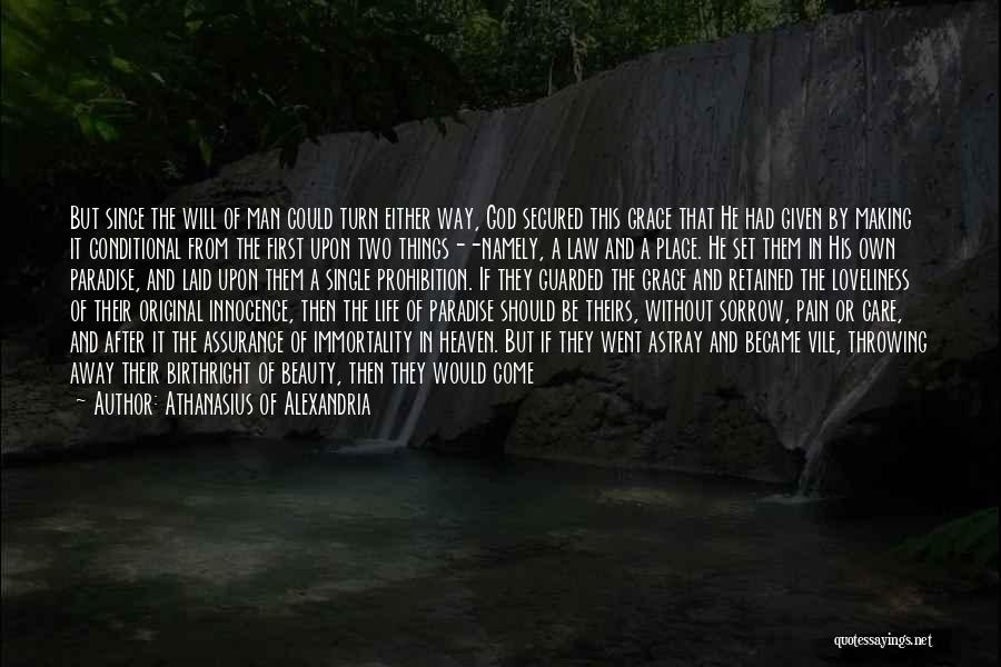 Innocence And Beauty Quotes By Athanasius Of Alexandria