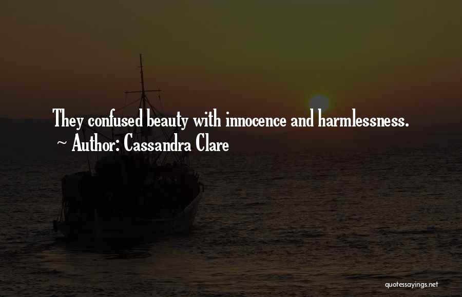 Innocence And Beauty Quotes By Cassandra Clare