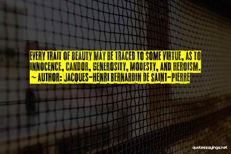 Innocence And Beauty Quotes By Jacques-Henri Bernardin De Saint-Pierre
