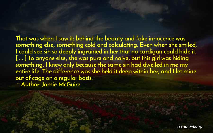 Innocence And Beauty Quotes By Jamie McGuire