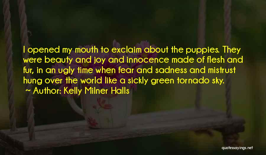 Innocence And Beauty Quotes By Kelly Milner Halls