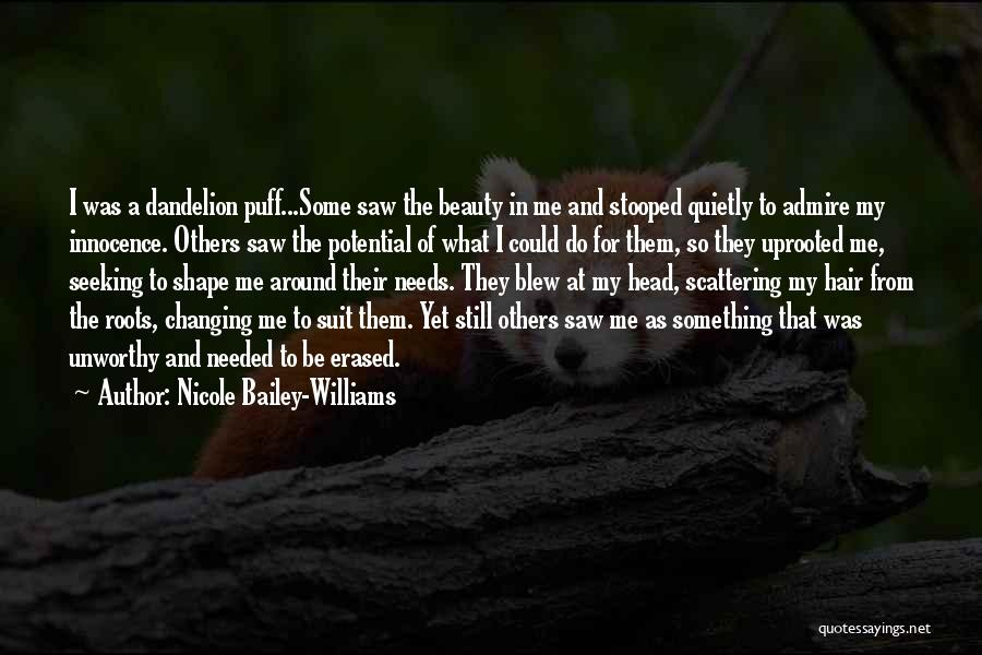Innocence And Beauty Quotes By Nicole Bailey-Williams