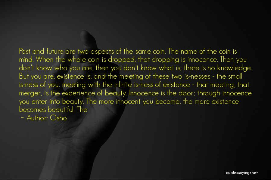 Innocence And Beauty Quotes By Osho