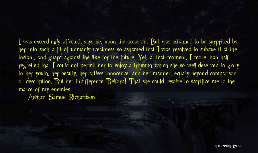 Innocence And Beauty Quotes By Samuel Richardson