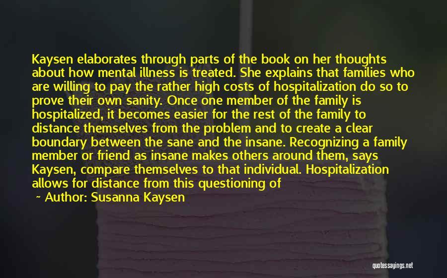 Insane Or Sane Quotes By Susanna Kaysen
