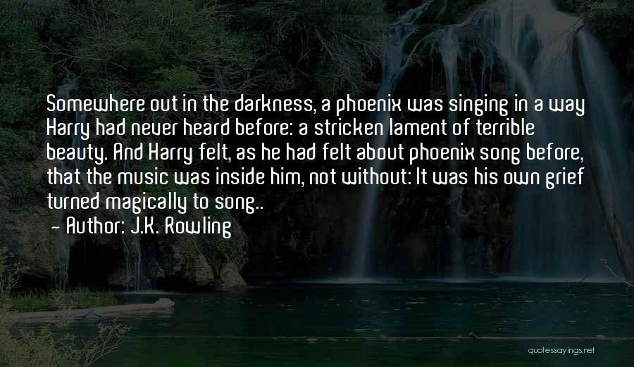 Inside And Out Quotes By J.K. Rowling