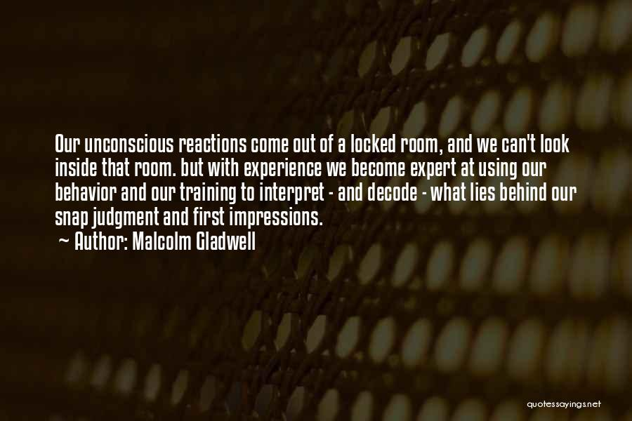 Inside And Out Quotes By Malcolm Gladwell