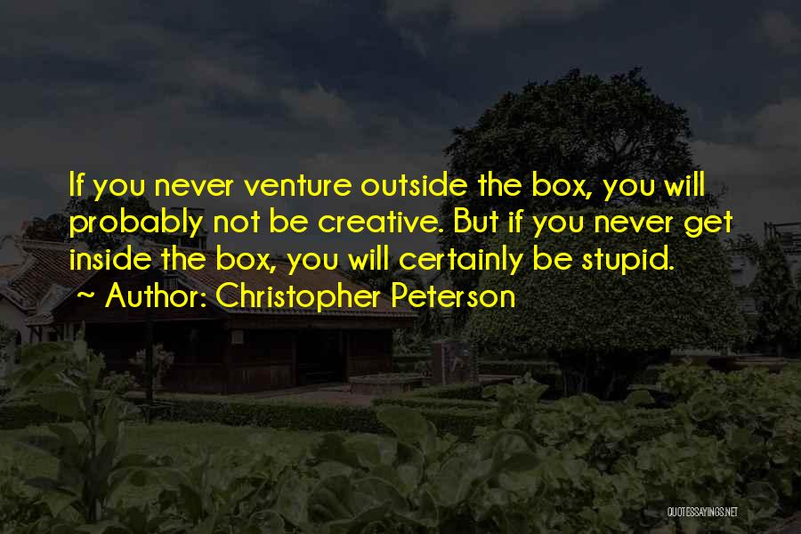 Inside Not Outside Quotes By Christopher Peterson