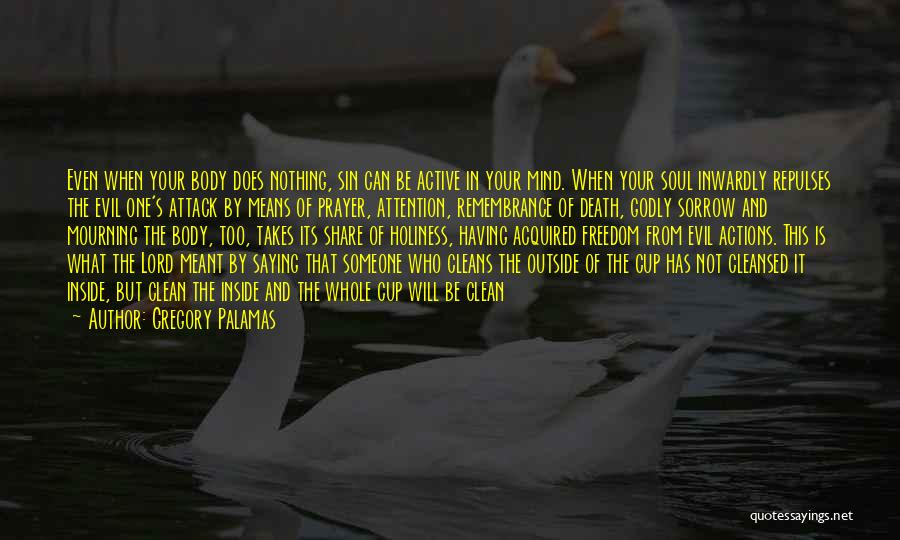 Inside Not Outside Quotes By Gregory Palamas