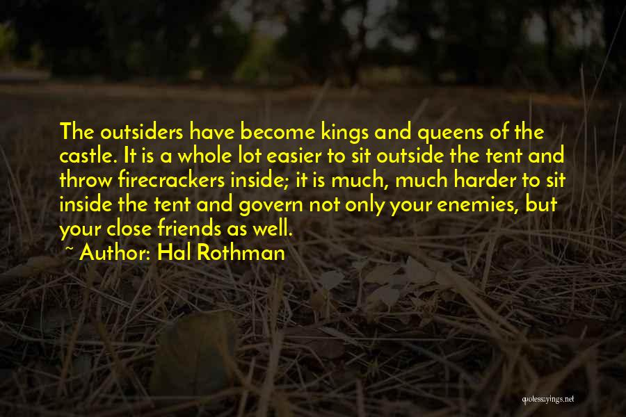 Inside Not Outside Quotes By Hal Rothman