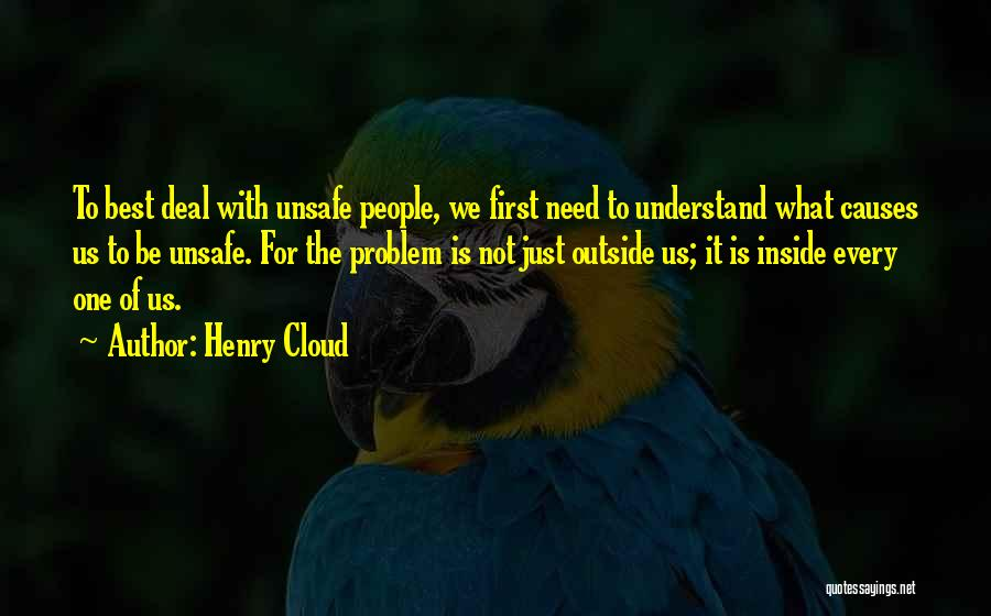 Inside Not Outside Quotes By Henry Cloud