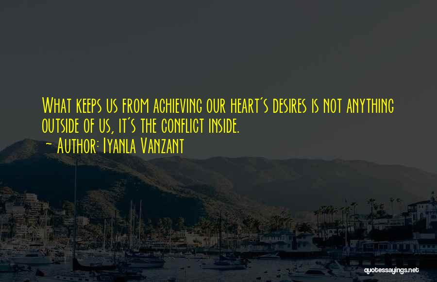 Inside Not Outside Quotes By Iyanla Vanzant