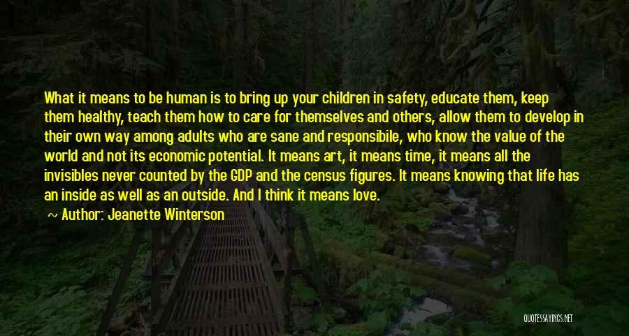 Inside Not Outside Quotes By Jeanette Winterson