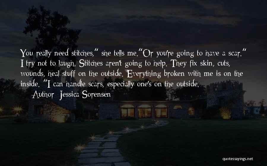 Inside Not Outside Quotes By Jessica Sorensen