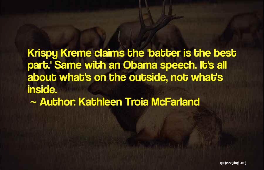 Inside Not Outside Quotes By Kathleen Troia McFarland