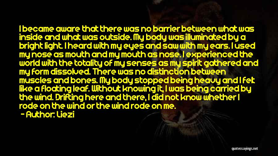 Inside Not Outside Quotes By Liezi