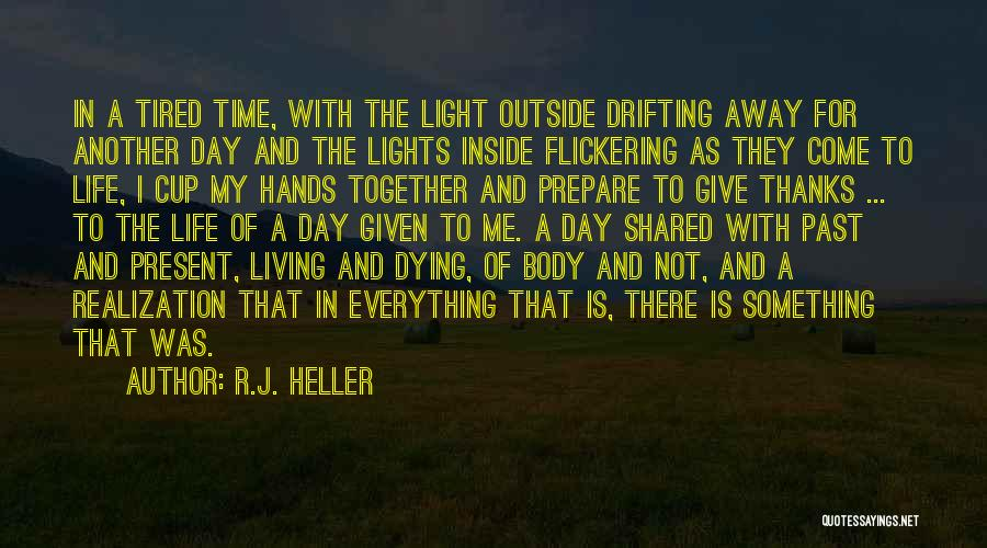 Inside Not Outside Quotes By R.J. Heller