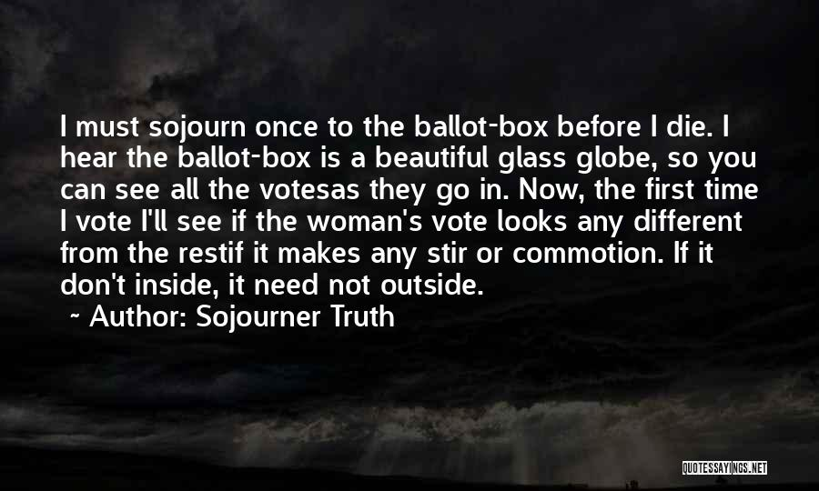 Inside Not Outside Quotes By Sojourner Truth