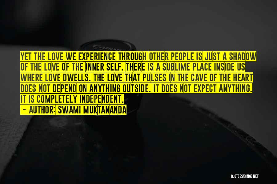 Inside Not Outside Quotes By Swami Muktananda