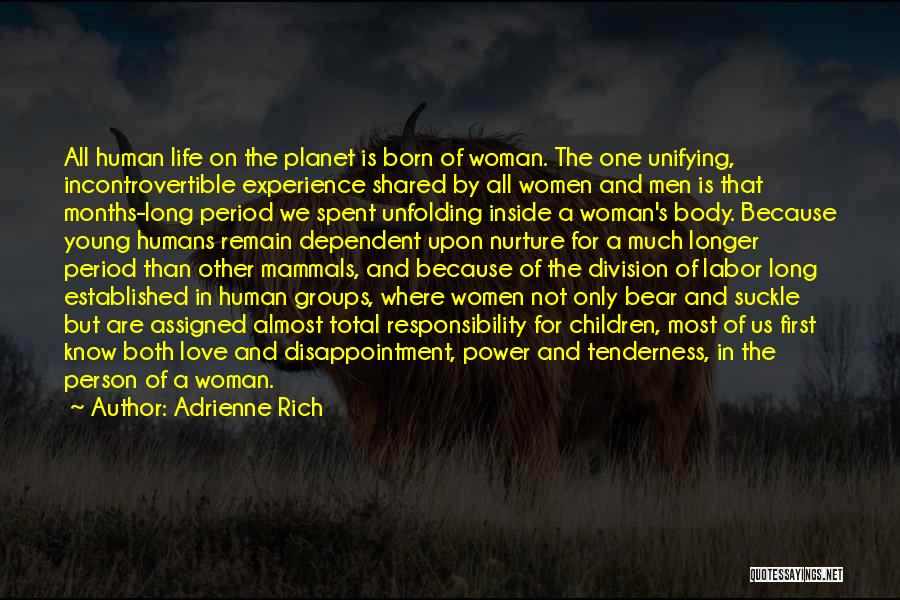 Inside The Human Body Quotes By Adrienne Rich