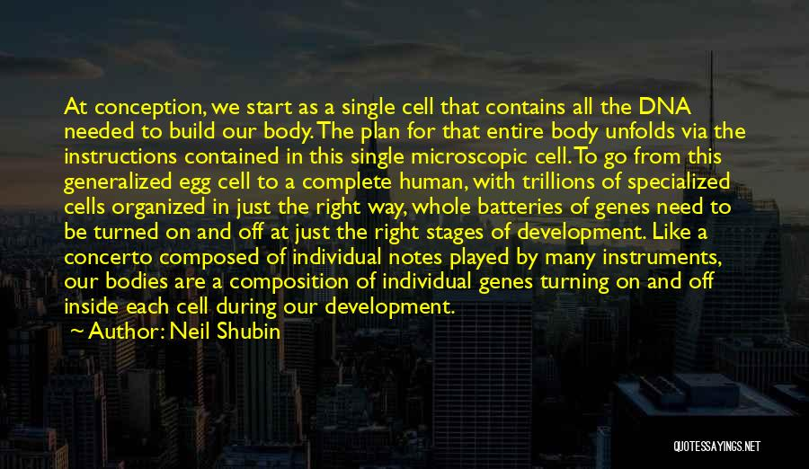 Inside The Human Body Quotes By Neil Shubin