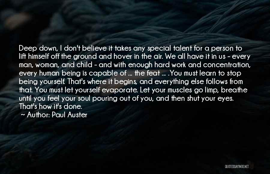 Inside The Human Body Quotes By Paul Auster