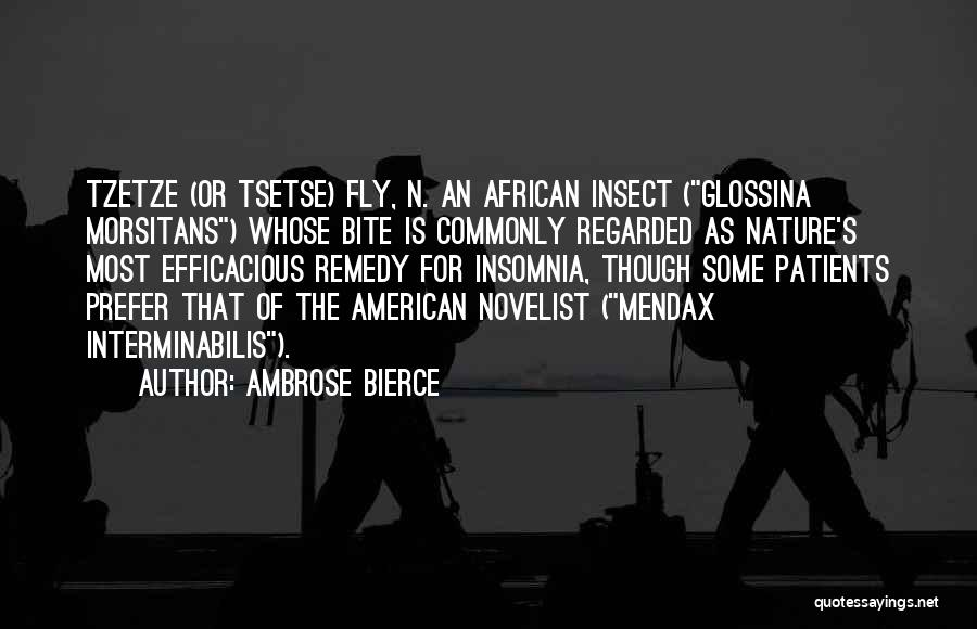 Insomnia Quotes By Ambrose Bierce