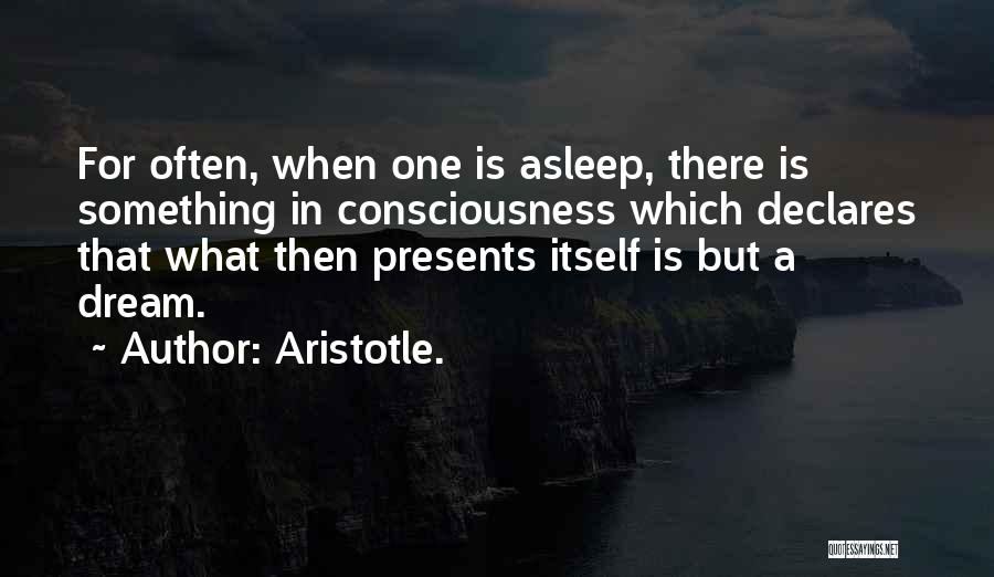 Insomnia Quotes By Aristotle.
