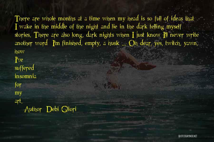 Insomnia Quotes By Debi Gliori