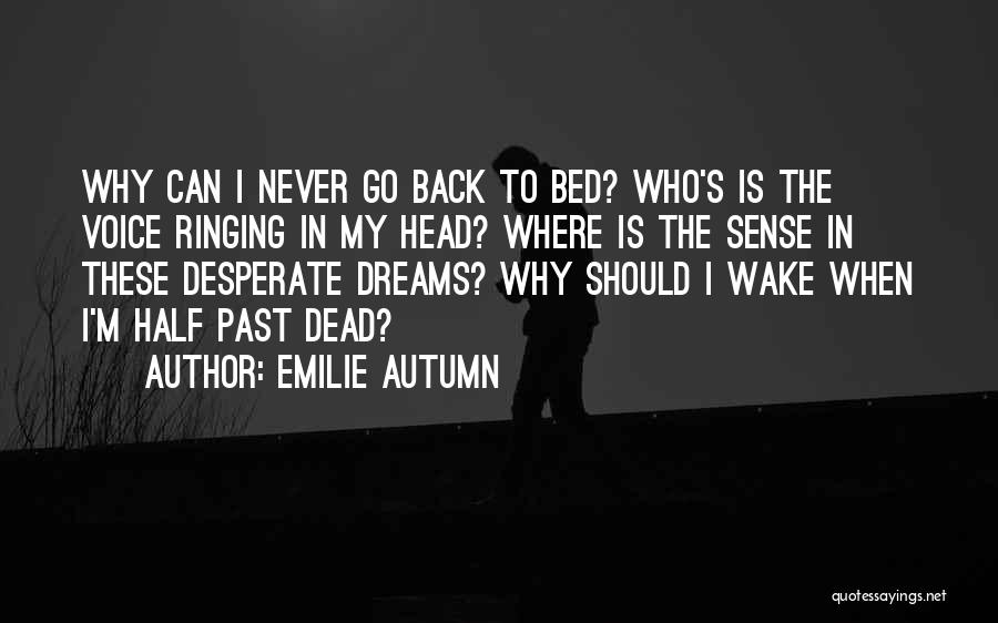 Insomnia Quotes By Emilie Autumn