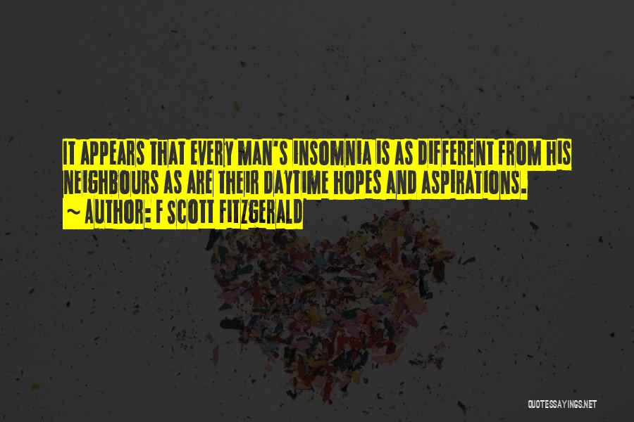 Insomnia Quotes By F Scott Fitzgerald