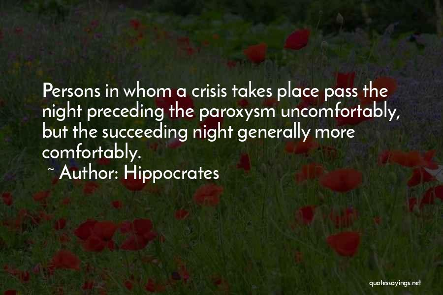 Insomnia Quotes By Hippocrates