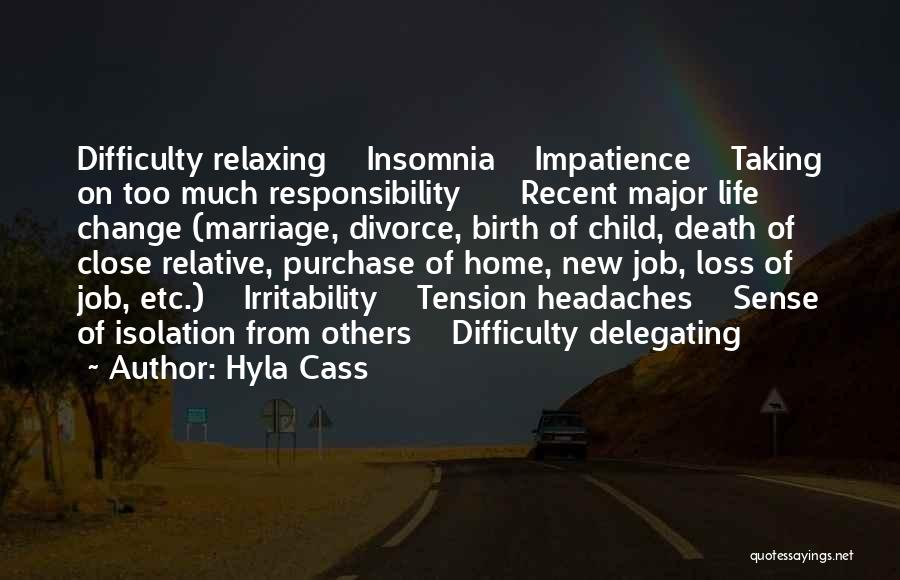 Insomnia Quotes By Hyla Cass