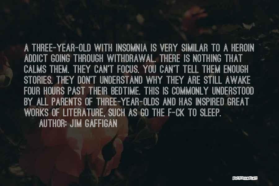 Insomnia Quotes By Jim Gaffigan