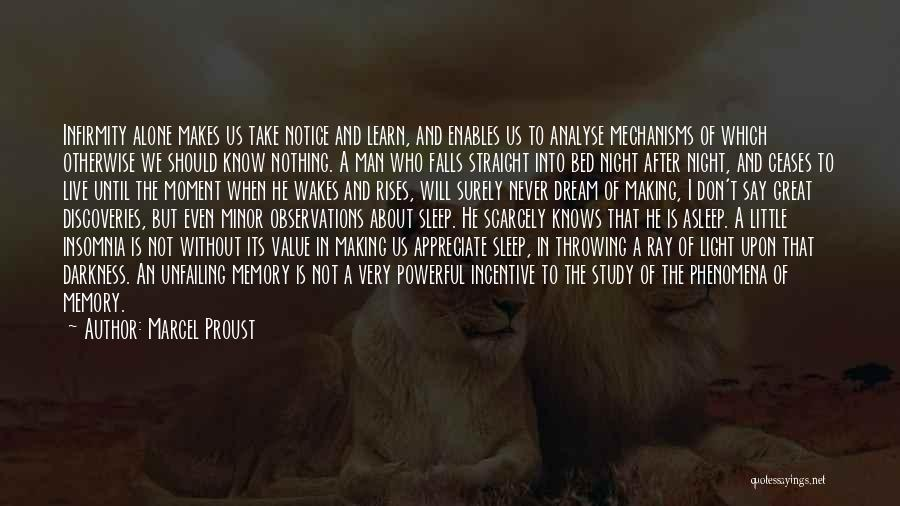 Insomnia Quotes By Marcel Proust