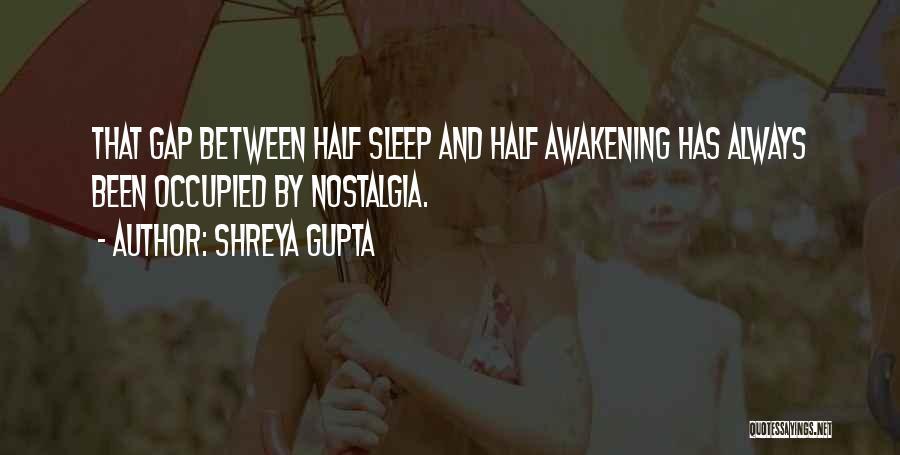 Insomnia Quotes By Shreya Gupta
