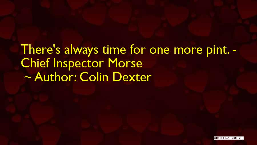 Inspector Quotes By Colin Dexter