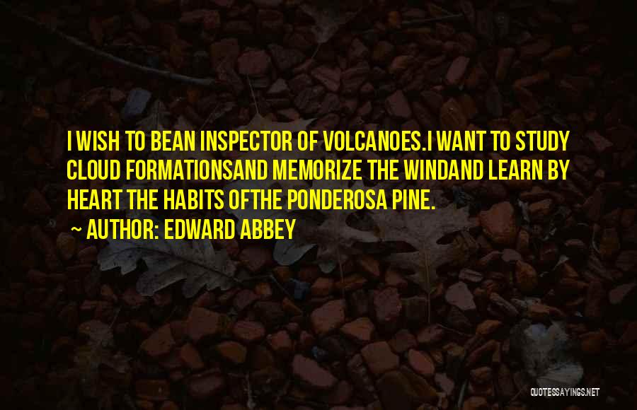 Inspector Quotes By Edward Abbey