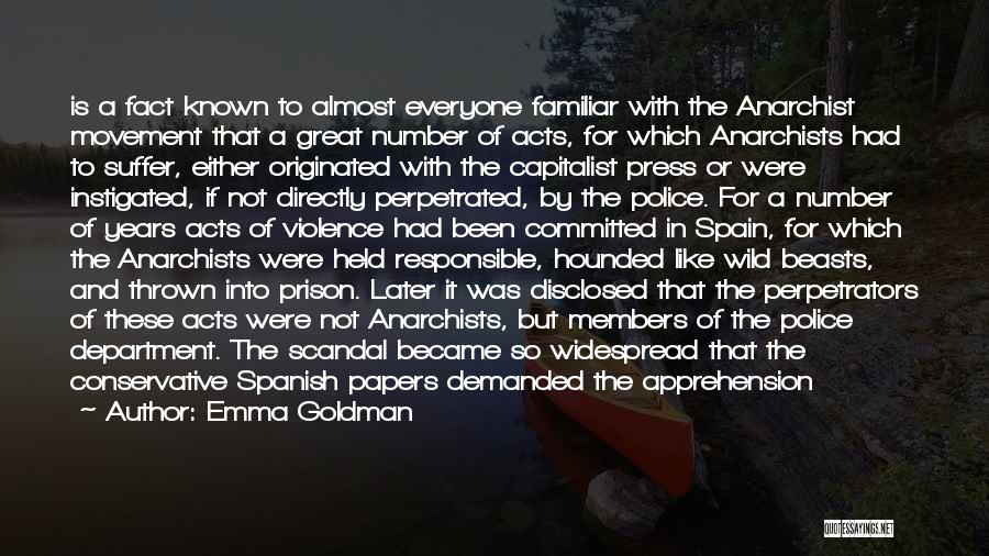 Inspector Quotes By Emma Goldman