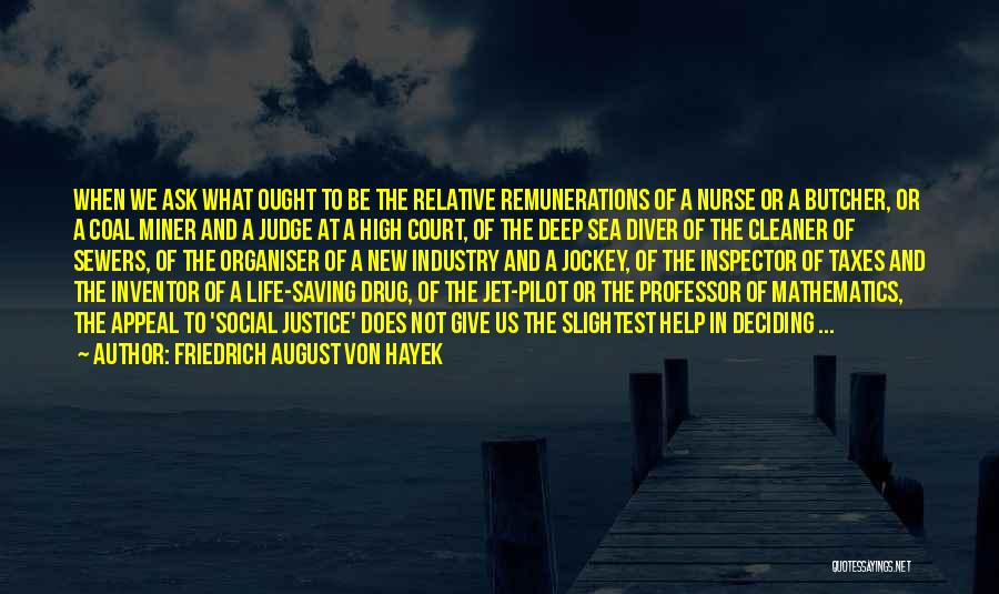 Inspector Quotes By Friedrich August Von Hayek