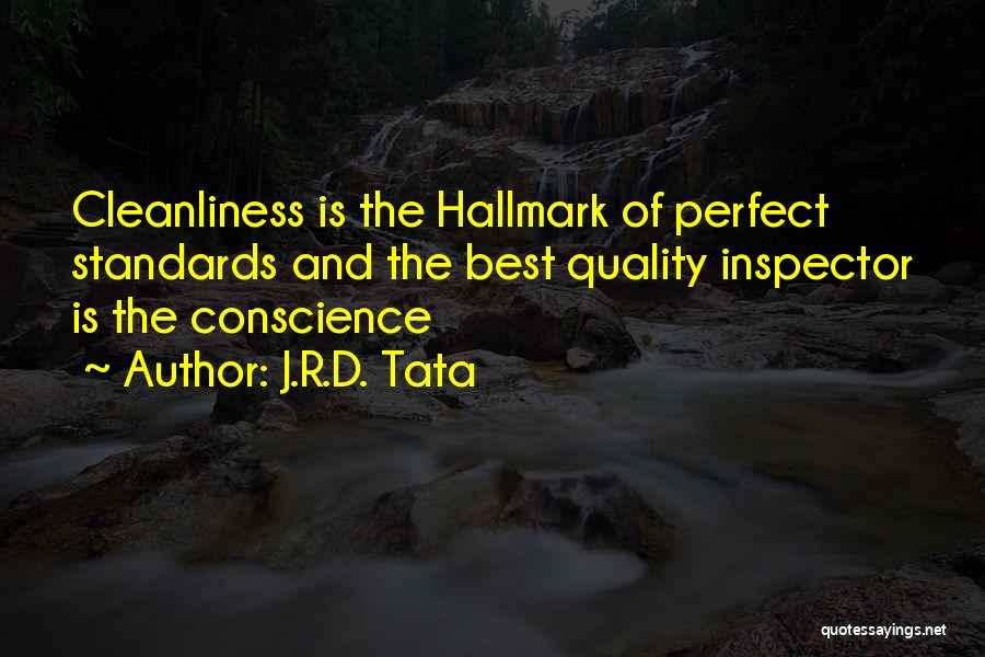Inspector Quotes By J.R.D. Tata