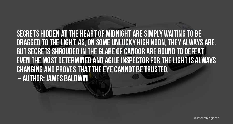 Inspector Quotes By James Baldwin