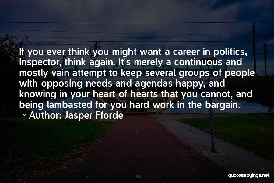Inspector Quotes By Jasper Fforde